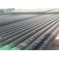 Anti Rust Seamless Black Steel Pipe , Carbon Steel Seamless Tube ASTM A53 Manufactures