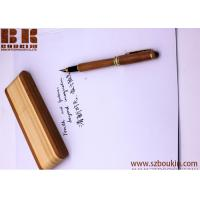 wooden pen with box custom engraving printing logo advertising promotional gift 145cm*11cm for sale