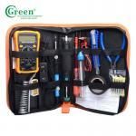 Digital Multimeter Electronics Soldering Kit , Portable Soldering Accessories Kit K018 Manufactures