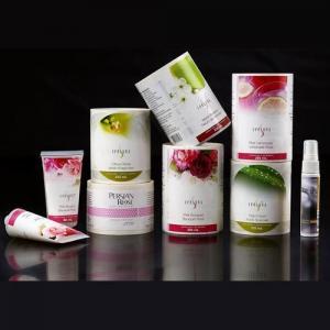 Viny PE Cosmetic Sticker Labels Environmental Flex Printing Customized