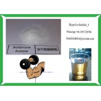 Hormone Steroid Raw Powder Boldenone Acetate 100Mg/Ml Semi Finised Oil Manufactures