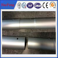 Industrial oem factory china milling and drilling,aluminium pipes tubes specially for rack Manufactures