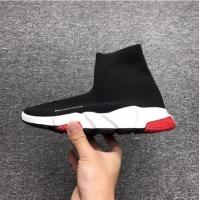 BALENCIAGA SPEED TRAINERS MENS SHOES BLACK AND RED BEST SELLER Manufactures