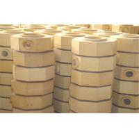 Dry Pressed Cement Kiln Refractory Brick Fire Clay Bricks For Ingot Steel Casting Manufactures