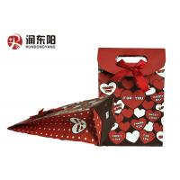 Patch Handle Wrapping Paper Bag Durable Material For Birthday Wedding Gift Items Manufactures