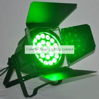 24x15W RGBAW 5 in 1 LED Studio Light with rotating barn doors Manufactures