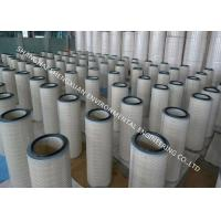Anti - Static Gas Filter Cartridge Long Life Span For Painting Room Dust Collecting Manufactures
