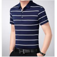 China promotional best quality cheap customized logo man blank business cotton polo t shirt on sale