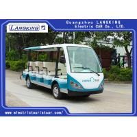 14 Seats 4 Wheels Electric Tourist Car For Resorts ,Villas , City Walking Street Manufactures