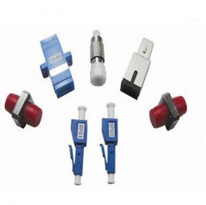 China 3D Simplex ST / FC Multimode Fiber Optical Adapter High Return Loss For Equipment Test on sale