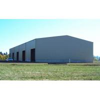 China Pre Engineered Steel Structure Frame Warehouse / Light Steel Structure Metal Sheds on sale