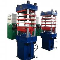 Buy cheap Precision Automatic Vulcanizing Machine 4 Working Layers Plate For Rubber from wholesalers
