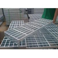 Durable Q235 Outdoor Galvanized Steel Stair Treads High Strength Material Manufactures