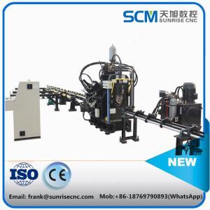 TAPM1010 CNC angle punching machine; cnc angle marking machine; cnc angle punching,making, shearing machine;angle punch Manufactures