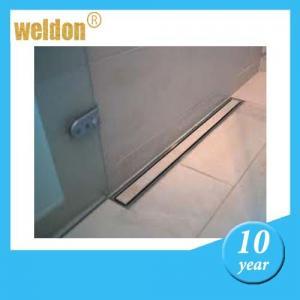 Floor stainless steel channel shower drain / rectangular shower drain Manufactures