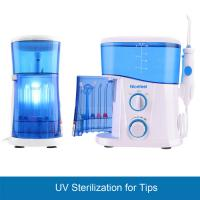 CE FDA Certificated UV Disinfection Dental Water Jet Flosser 1600 Hz High Frequency Manufactures