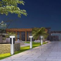 IP65 Pole Mounted Solar Lights , All In One Solar Street Light Bridgelux Source Manufactures
