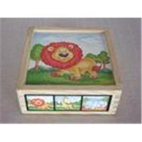 Animal Jigsaw Puzzle Childrens Wooden Toy Blocks for Toddler Manufactures
