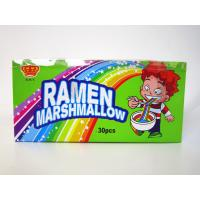 Delicious hand-pulled noddles mashmallow / taste soft and sweet / colorful mashmallow Manufactures