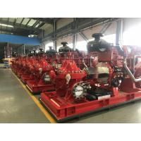175PSI EDJ Fire Diesel Engine Motor / Fire Pump And Jockey Pump 1000 Gpm Manufactures
