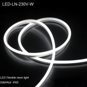 IP44 230V Waterproof flexible LED Neon strip lights/ LED strip Light for building decoration Manufactures
