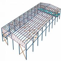 Galvanized Surface Treatment Prefabricated Steel Structures Hear - Preservation Manufactures