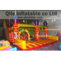 Buy cheap large inflatable slide inflatable Disneyland castle inflatable slide from wholesalers