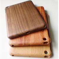 Waterproof Walnut Wood Ipad Mini Protective Cases / Smart Cover Manufactures