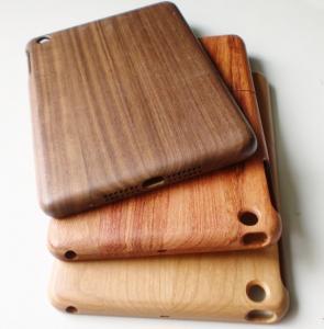 China Waterproof Walnut Wood Ipad Mini Protective Cases / Smart Cover on sale