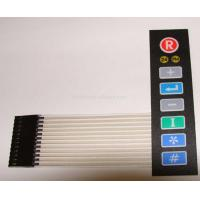 Polyester / Polycarbonate Membrane Switch Keypad , Mylar Metal Dome Membrane Switch Manufactures