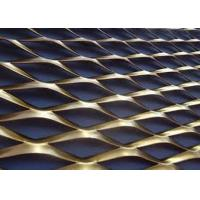 China Galvanized Stainless Steel Aluminum Expanded Metal Mesh Security Mesh Fence on sale