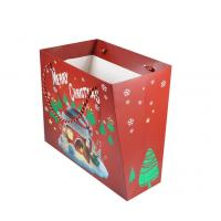 Customized Size Personalised Printed Gift Bags Coated Paper Material For Christmas Manufactures