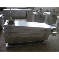 Quality SUS304 SUS316L FS Series Square Vibration Sifter(sieve) Grinding Pulverizer for sale