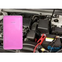 External Rechargeable Mini Car Jump Starter Power Bank of Li-Polymer 5400mAh Manufactures