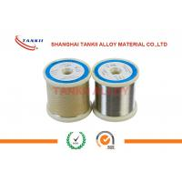 Monel400 Copper Nickel Alloy Wire/ Strip Good Corrosion Resistance Manufactures