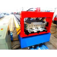 High Speed Metal Deck Roll Forming Enquipment Color Steel With Japan Panasonic PLC System Manufactures