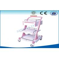 Manual Surgery Drug / Medication Trolley , ABS Emergency Cart Manufactures