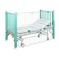 Two Function Manual Medical paediatric Bed With Enameled Steel Side Rails Manufactures