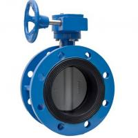 China 150lb ANSI 125 PN10 Concentric Flange Butterfly Valve on sale