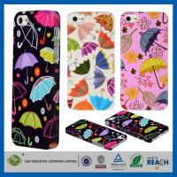 Colorful Umbrella Hard Skin Cover Shell Apple Cell Phone Cases For Iphone 5G 5 5S Manufactures