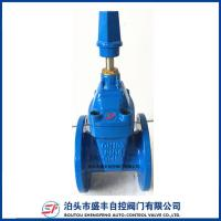 ductile iron water resilient seated gate valve
