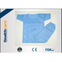 Eco Friendly Disposable Scrub Suits Surgical Hospital Gowns With CE Certificate Manufactures