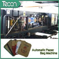 Flat Bottom Pasting Paper Bag Forming Machine Which Can Pack 50Kg Cement Manufactures