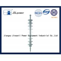 110 KV Suspension Type Insulator , Polymer Suspension Insulators Easy Installation Manufactures