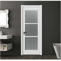 Secure Frosted Glass Interior Door 40mm Total Thickness 1100mm Max Width Manufactures