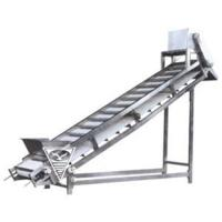 China Polyester net and stainless steel chain plate type lifter on sale
