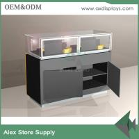 China Glass display cabinet  for cell phone counter  mobile phone accessories showcase display in shopping mall on sale