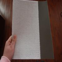 PVC waterproof membrane with PET fabric Manufactures