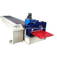China PPGi GI Metal Roofing Sheet Roll Forming Machine Double Layer 45# Steel Roller on sale