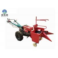 0.33 Acre / H Corn Harvester Machine , Single Row Maize Combine Harvester Manufactures